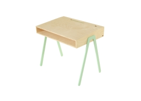 Kids desk large IN2WOOD - Mint green