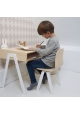Kids desk small IN2WOOD - White