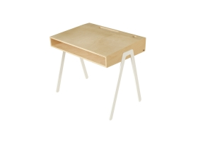 Kids desk large IN2WOOD - White