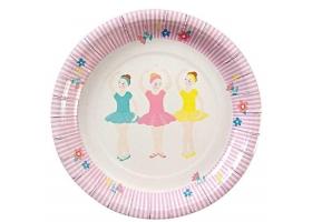 Ballerine - Set de 12 assiettes Ballerine