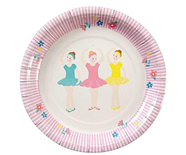 Ballerine - Set de 12 assiettes