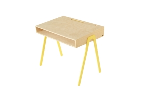 Kids desk large IN2WOOD - Yellow