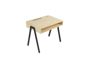 Kids desk small IN2WOOD - Black
