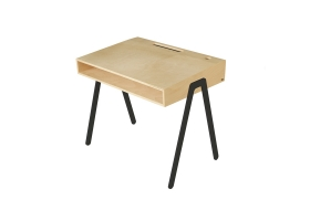 Kids desk large IN2WOOD - Black