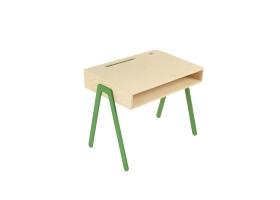Kids desk small IN2WOOD - Green