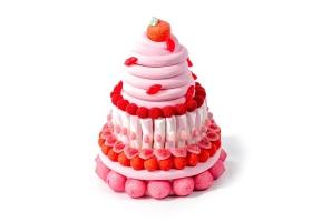 Gâteau de Bonbons - Le Lovely Pink - 120 bonbons