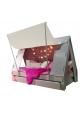 Tente bed 90 x 190 cm by MATHY BY BOLS - Grey