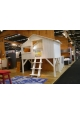 Cabine bed 90 x 190 cm by MATHY BY BOLS - White