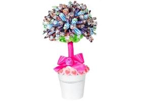 Gâteau de Bonbons - L'arbre - 100 mini chocolats