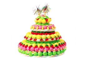 Gâteau de Bonbons ~La Dolce Vitta - 370 bonbons~