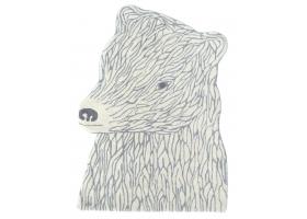 Bear Carpet by Joachim Jirou-Najou