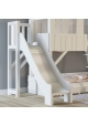 Treehouse Bunk bed and slide with plateform 90 x 190 cm by MATHY BY BOLS - Winter pink