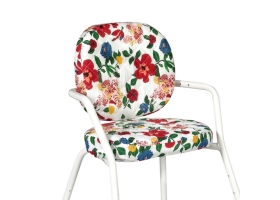 Seat Cushion for High Chair TIBU - Le Petit Lucas du Tertre Hibiscus cushions