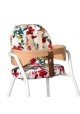 Coussins pour chaise haute TIBU - Hibiscus Le Petit Lucas du Tertre