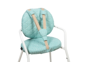 Seat Cushion for High Chair TIBU - Diamond Blue