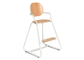 Tibu Toddler High Chair - Gentle White