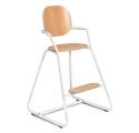 Chaise haute évolutive TIBU blanc