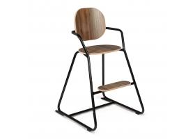 Chaise haute évolutive TIBU Black Edition
