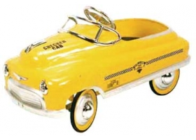 Toys - Classic Pedal Car COMET yellow