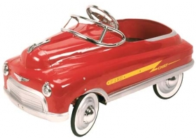 Toys - Classic Pedal Car COMET red