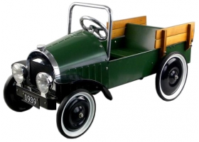 Toys - Classic Pedal Car Pick up Green