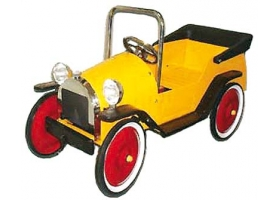 Toys - Classic Pedal Car yellow
