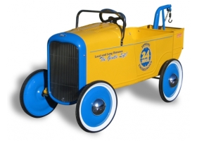 Toys - Classic Pedal Car Ford Truck Yellow