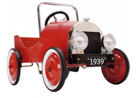 Toys - Classic Pedal Car Red
