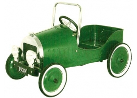 Toys - Classic Pedal Car Green