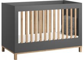 Lit bébé VOX Altitude 60 x 120 cm - Gris