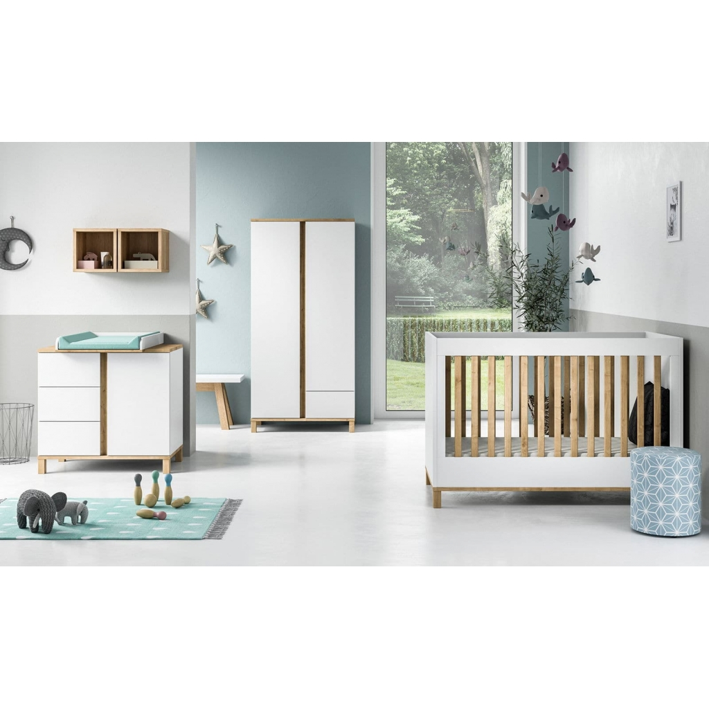 Bed 140 Cm.Baby Bed 70 X 140 Cm Altitude White By Vox