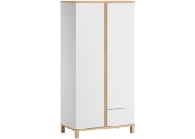 2-DOOR WARDROBE Altitude - White