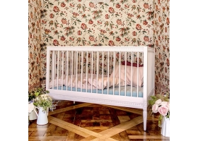 Baby Bed GUSTAVIENNE - Powder pink