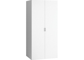2-DOOR WARDROBE 4 you - White