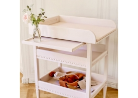 Changing Table GUSTAVIENNE - Powder pink