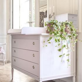 Dresser et Changing Tray GUSTAVIENNE - Powder pink