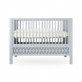 Baby Bed Harlequin Grey - 60 x 120 cm