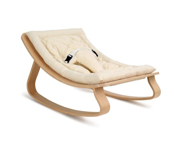 Baby Rocker LEVO - Organic White Cushion