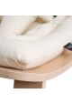 Baby Rocker LEVO - Organic White Cushion