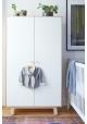 2-DOOR WARDROBE MERLIN by oeuf NYC