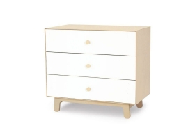 Commode Merlin Sparrow 3 tiroirs Bouleau