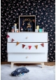 Merlin 3-drawer chest of drawers - Birch