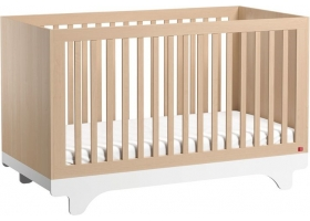 Baby Bed 70 x 140 cm - Playwood birch white