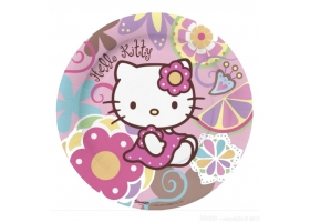 Hello Kitty ~Set de 10 assiettes~