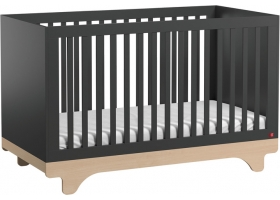 Baby Bed 70 x 140 cm - Playwood graphite birch