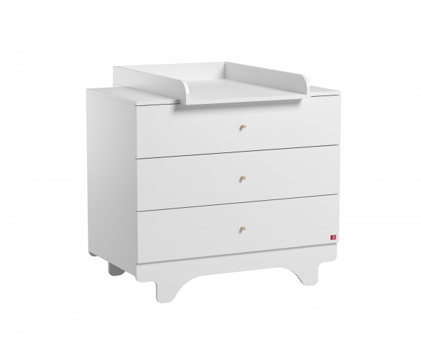 Dresser With Changing Table Playwood White