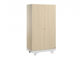 2-DOOR WARDROBE Playwood - Birch White