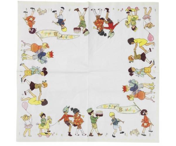 Belle & Boo ~Set de 20 serviettes~