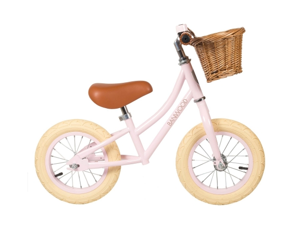 "Go First Push Bike 12"" by Banwood - Pink"