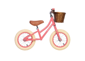 "Go First Push Bike 12"" by Banwood - Coral"